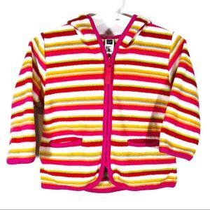 GAP Size 12-18m Fleece Zip-Up Hooded Sweater